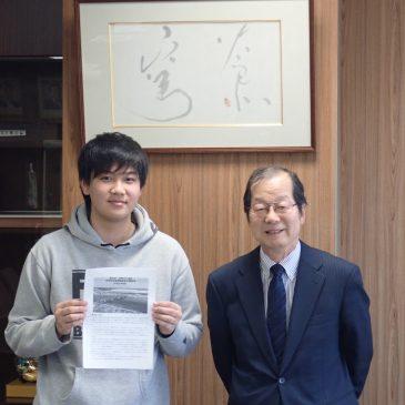 北海道大学との共同研究はじまります!