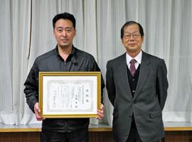 高橋先生が、本学の産学官連携活動貢献賞を受賞しました
